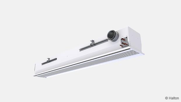 Narrow ceiling beam,