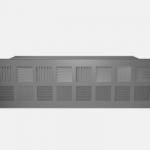 Rectangular floor diffuser