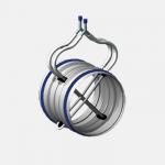 Circular airflow management unit