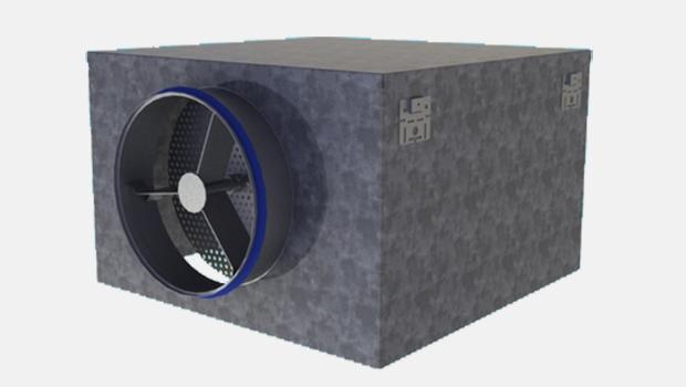 Plenum for supply air