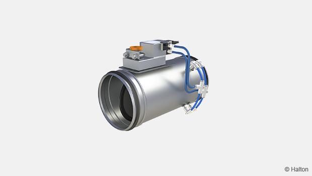 Circular airflow management damper